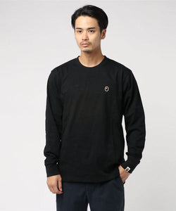 Ape Head One Point Long sleeve (Black) - Bape