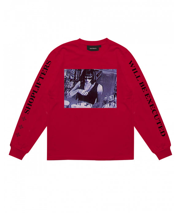 Shoplifter Long Sleeve - Wasted Paris