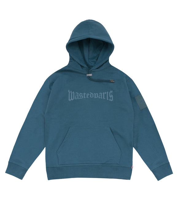 London Hoodie (River Blue) - Wasted Paris