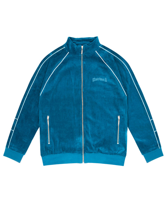 London Track Jacket (River Blue) - Wasted Paris