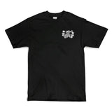 Sippin Santa Tee (Black) - 40s & Shorties