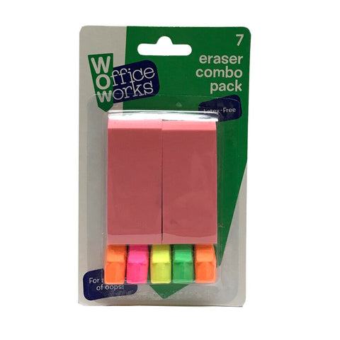 Office Works Eraser Combo Pack
