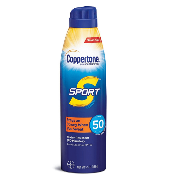 Coppertone Sport Sunscreen, Spray, SPF 50 - 5.5 oz