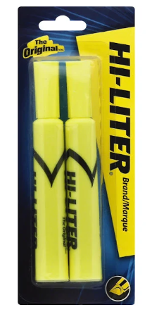 Avery Hi-Liter - Highlighter - non-permanent - fluorescent yellow