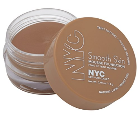 New York Color Smooth Skin Mousse Foundation, Natural Rose