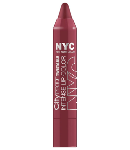 New York Color City Proof Twistable Intense Lip Color, Riverside Rose