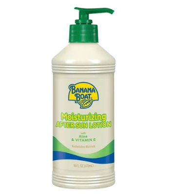 Banana Boat Moisturizing Aloe After Sun Lotion - 16oz