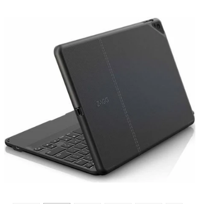 ZAGG Folio Wireless Bluetooth Keyboard and Folio Case for 9.7-inch iPad Pro - Black