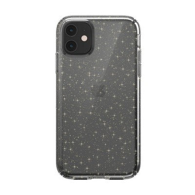 Speck Apple iPhone 11 Presidio Clear + Glitter Case - Clear (with Gold Glitter)