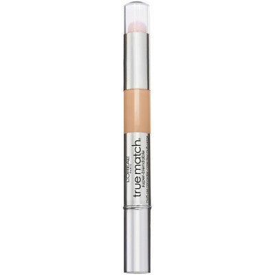L'Oreal Paris True Match Super-Blendable Multi-Use Concealer Makeup Light N3-4 - 0.05 fl oz