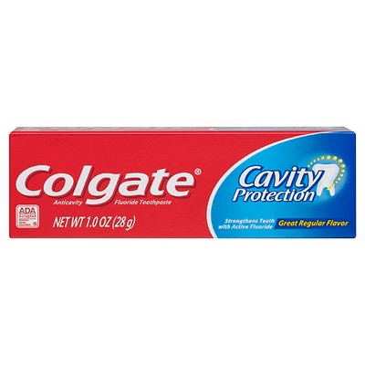 Colgate Cavity Protection Toothpaste with Fluoride - 1oz