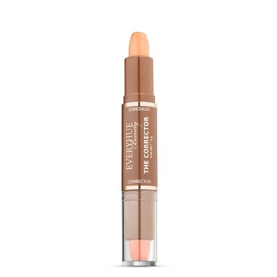 EveryHue Concealer Corrector Duo Satin Medium Ginger - 0.28oz