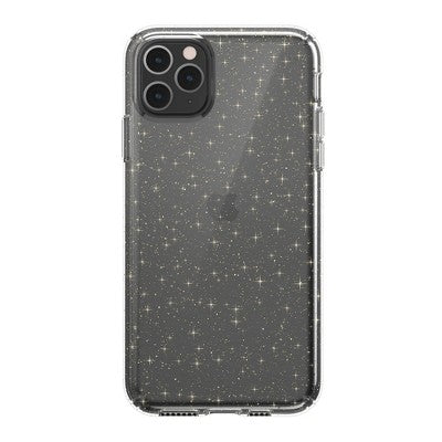 Speck Apple iPhone 11 Pro Max Presidio Clear + Glitter Case - Clear (with Gold Glitter)