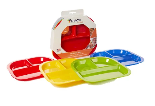 Arrow Sectional Trays