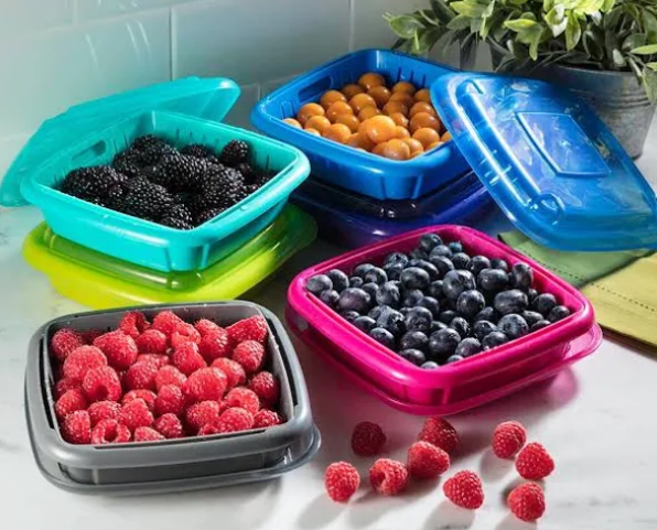 Hutzler Bitty Berry Storage Container - Assorted