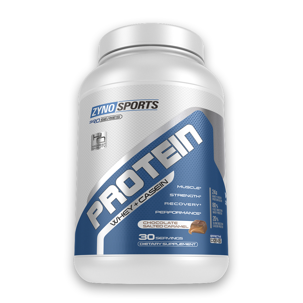 Whey + Casein Protein Powder / 30 Servings