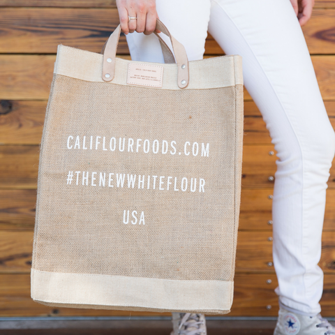 Cali'flour Foods Apolis Market Bag (Leather Strap Edition)