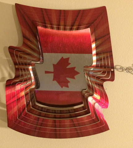 Canada Flag Wind Spinner 101