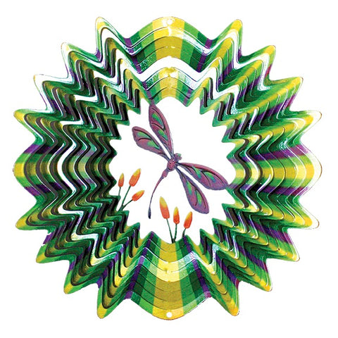 Green Dragonfly Wind  Spinner 130