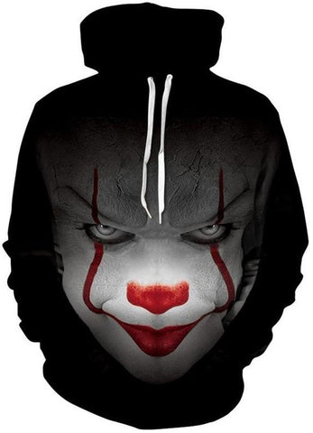 IT Clown Sublimation Hoodie
