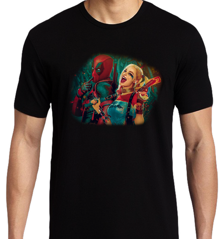 Harley Deadpool T-Shirt