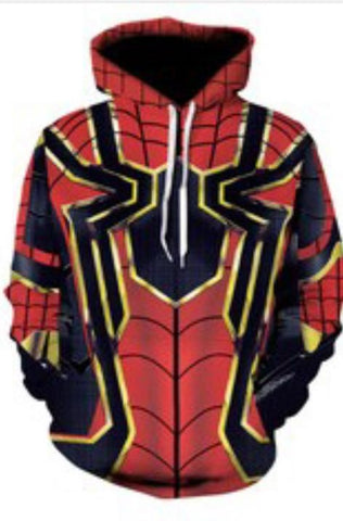 Spider Sublimation Hoodie