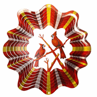 Wind Spinner Red Cardinal