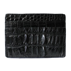 Alligator Head Skin - Card Holder