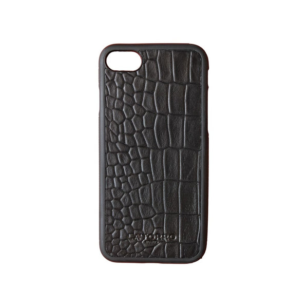 Black Crocodile-Style Iphone 7/8 Case - Iphone Case