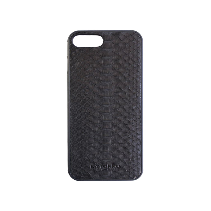 Black Python Snakeskin Iphone 7+ / 8+ Case - Iphone Case