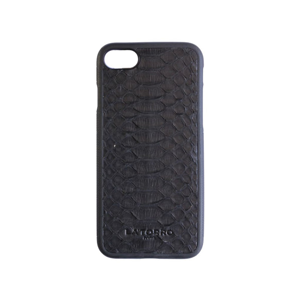 Black Python Snakeskin Iphone 7/8 Case - Iphone Case
