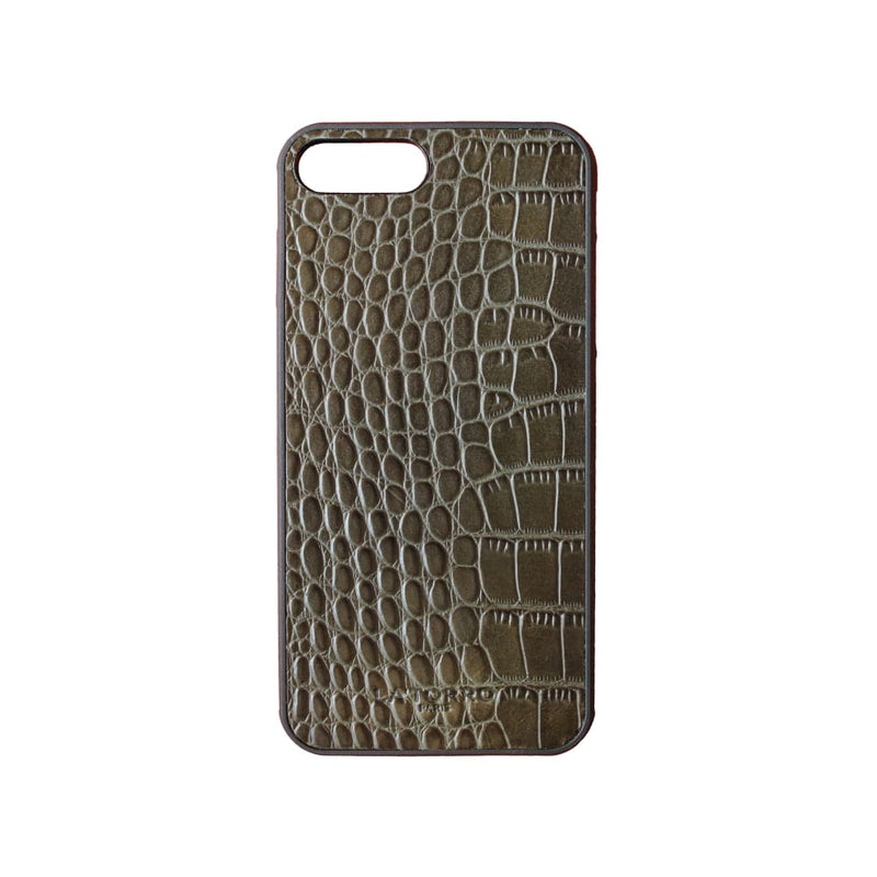 Green Crocodile-Style Iphone 7+ / 8+ Case - Iphone Case