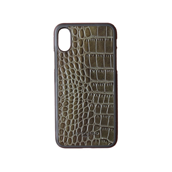 Green Crocodile-Style Iphone X/xs Case - Iphone Case