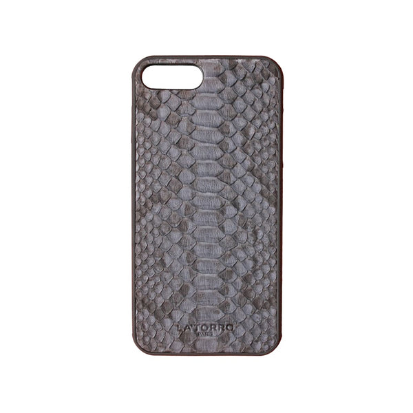 Grey Python Snakeskin Iphone 7+ / 8+ Case - Iphone Case