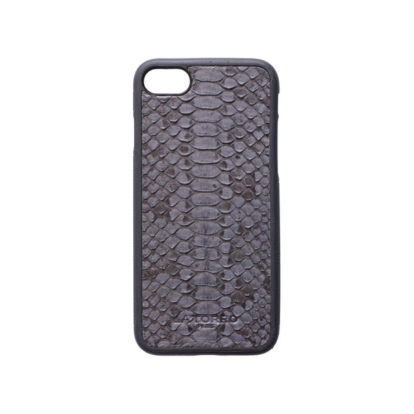 Grey Python Snakeskin Iphone 7/8 Case - Iphone Case