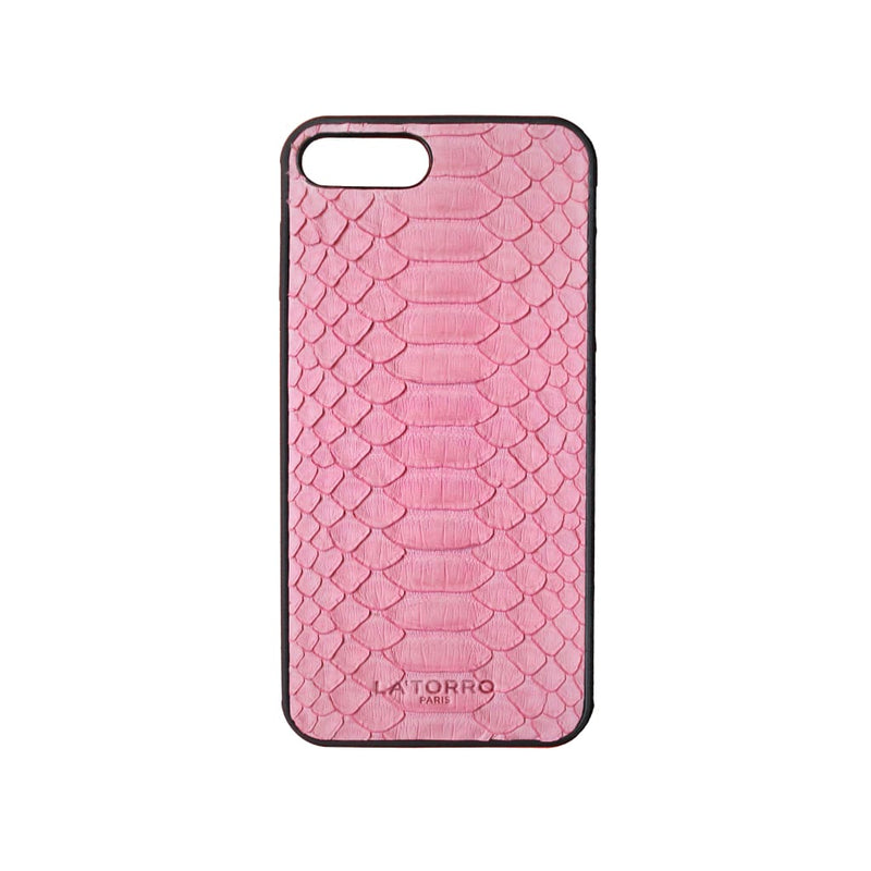 Pink Python Snakeskin Iphone 7+ / 8+ Case - Iphone Case