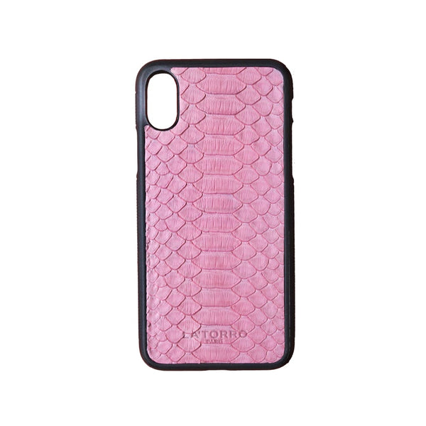Pink Python Snakeskin Iphone X/xs Case - Iphone Case
