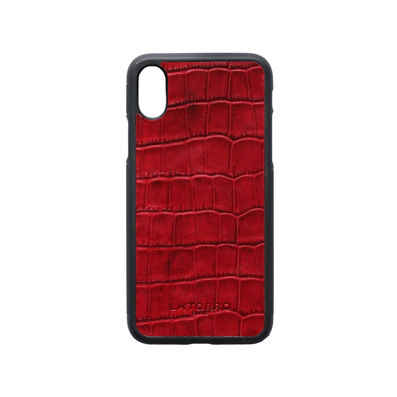 Red Crocodile-Style Iphone X/xs Case - Iphone Case