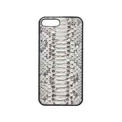 White Python Snakeskin Iphone 7+ / 8+ Case - Iphone Case