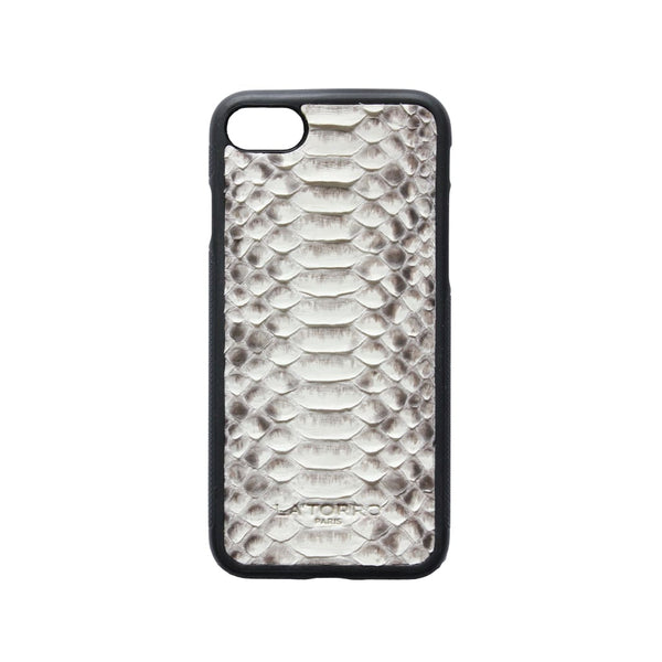 White Python Snakeskin Iphone 7/8 Case - Iphone Case