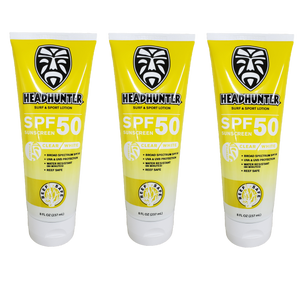 Reef Safe - SPF 50 Surf & Sport Lotion 3-Pack