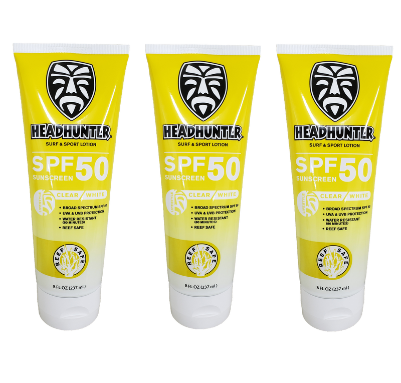 Reef Safe-SPF 50 Surf & Sport Lotion 3-Pack