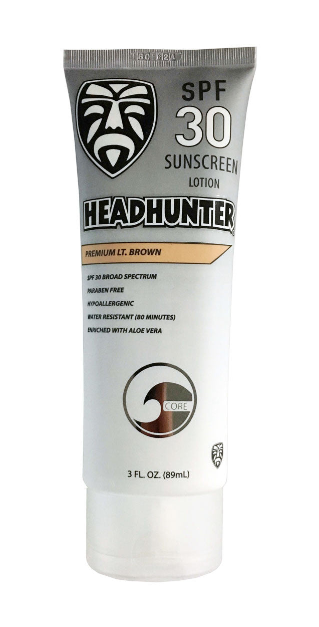 SPF 30 Mineral Sunscreen Cream - Light Brown (HWT)