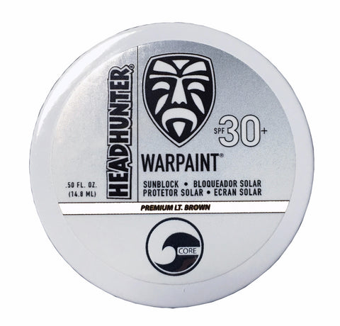 SPF 30 Sunscreen War Paint / Heavy Cream / Clear - White (HWT)