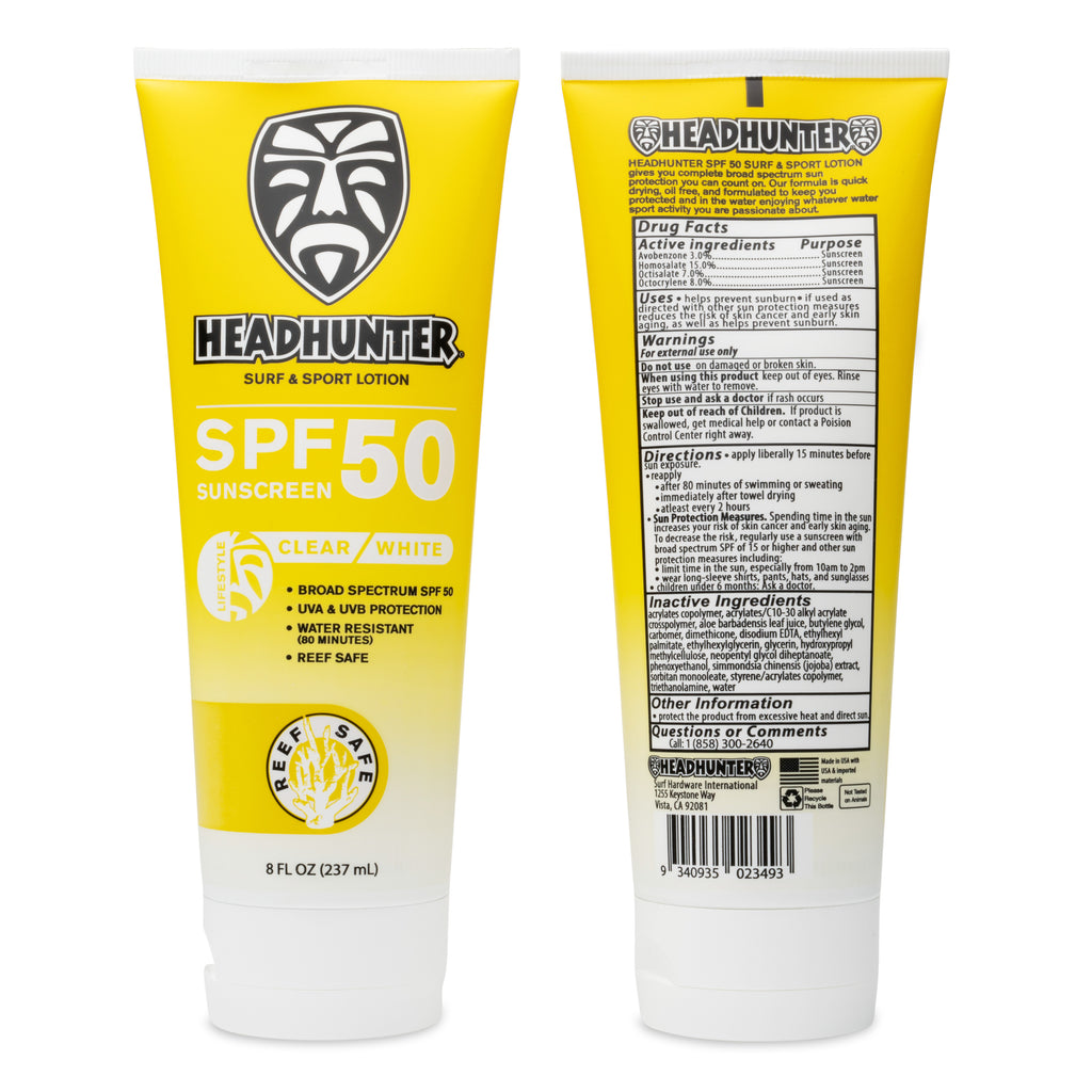 Reef Safe-SPF 50 Sunscreen Surf & Sport Lotion