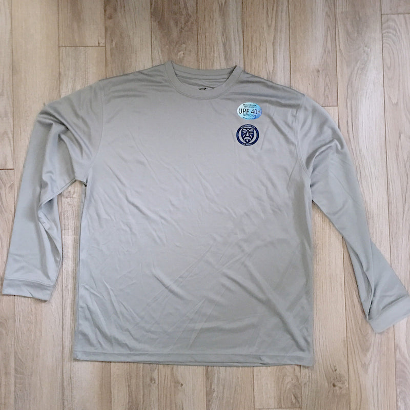 Headhunter Sun Shirt / Light Grey / LS