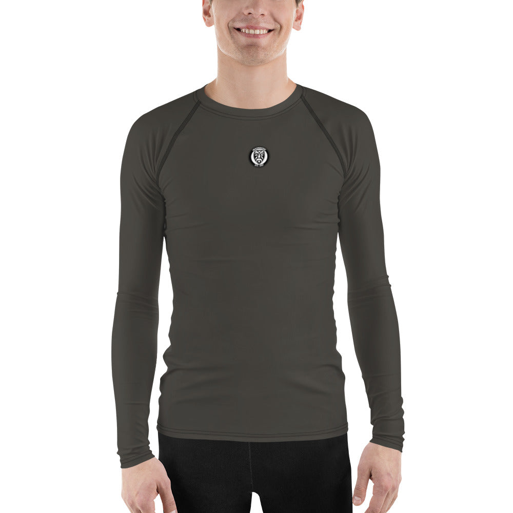 Men's UPF 40+ Rash Guard - Black Board