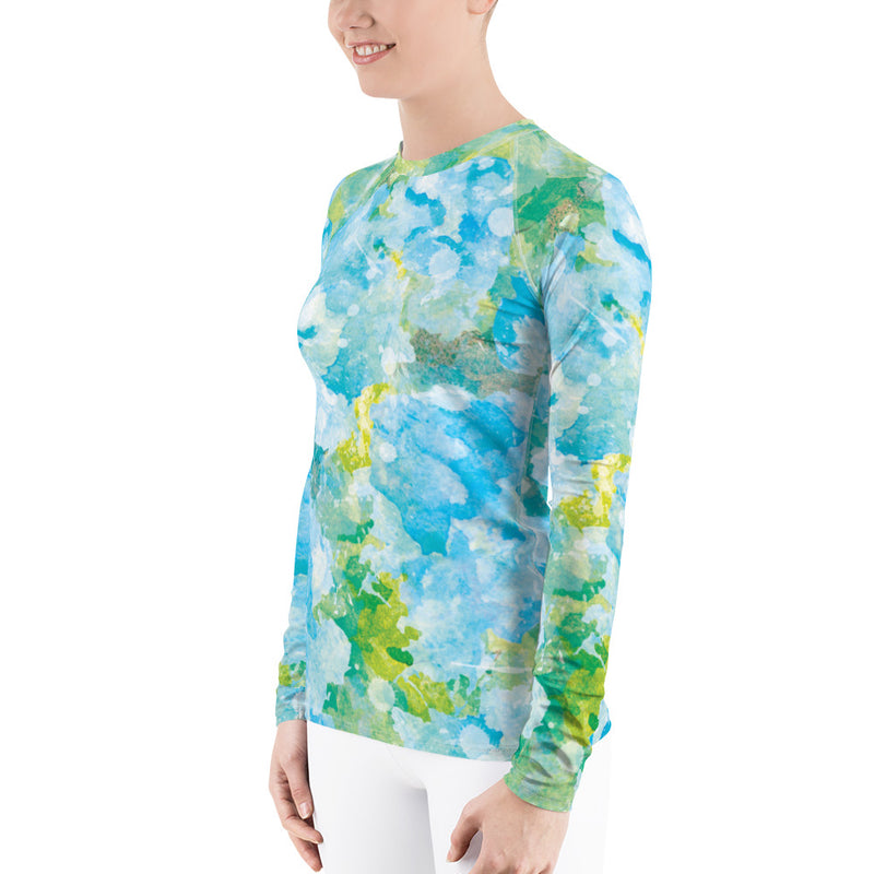 Women's Rash Guard by Headhuntersurf.com