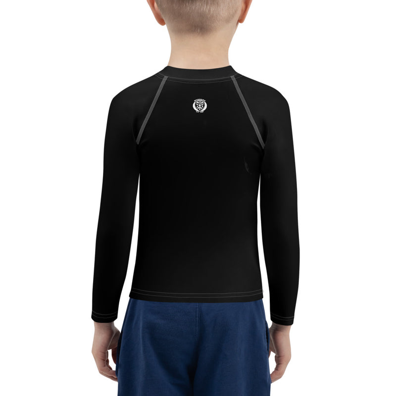 Kids Rash Guard - Black