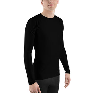 Men's Rash Guard - Black